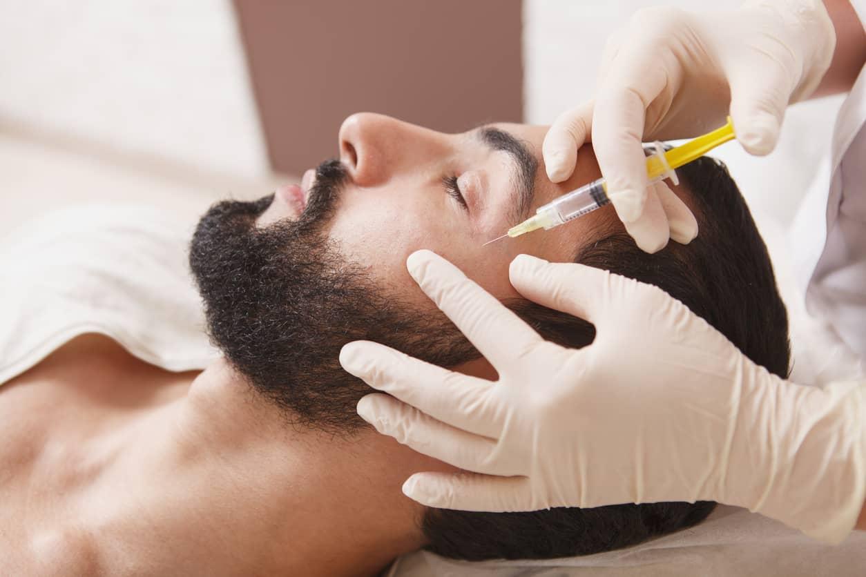 estética para hombres botox